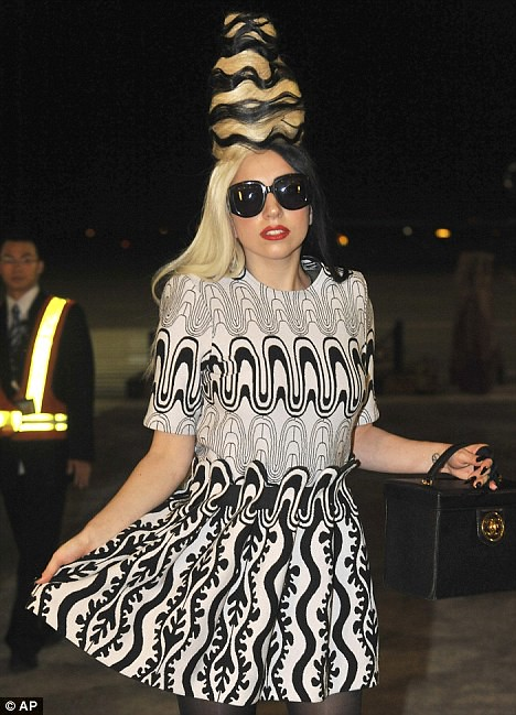 Lady Gaga gets Taiwan in a buzz with her latest wacky hairstyle  1