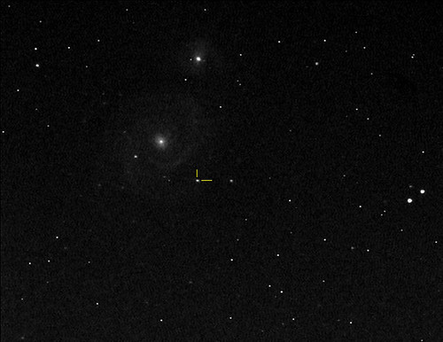 M51 - Whirlpool Galaxy & SN 2011dh by geminijk