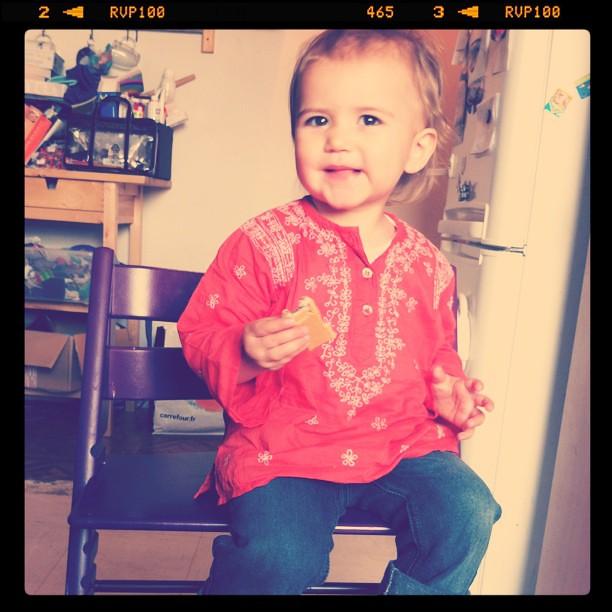 Alixe, 19 months.
