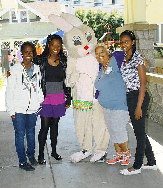 Easter Outreach at Alexandrias House