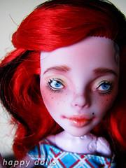 piccover (Hellohappylisa) Tags: hello cute monster ball happy for high opera doll ebay sweet sale auction adorable kawaii bjd custom phantom happydolls jointed operetta repaint