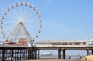 Central Pier. Blackpool. Explore #205.