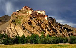 Gyantse Dzong (fortress), Tibet