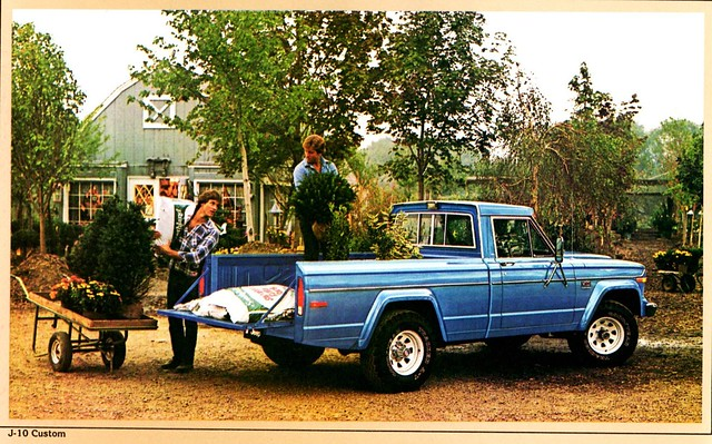 jeep pickup custom 1980 brochure j10