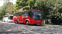 Lawton's (PD3.) Tags: road uk england bus buses museum volvo hard hampshire portsmouth quays executive coaches southsea jonckheere psv pcv gunwharf mistral exe hants l10 b12b l10exe