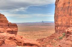 Monument Valley - From Mystery Valley [Explore] (zendt66) Tags: travel vacation arizona usa southwest monument utah nikon desert scenic american valley navajo monumentvalley hdr navajotribalpark d90 photomatix zendt66