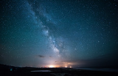 Baker Beach (Ranbo (Randy Baumhover)) Tags: oregon stars florence pacificocean milkyway