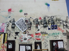 20140504_154936 (BeaheF) Tags: street urban streetart paris france art collage wall painting photography graffiti stencil europe paint gun wheatpaste suicide urbanart puzzle jigsaw walls mur murs steet vivre urbain pochoir stret arturbain hadopi