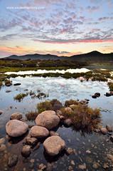 Estanque (Xavier Mas Ferr) Tags: estanque sessalines eivissa ibiza amanecer agua reflejo nubes clouds water pebbles sunrise sky landscape paisaje balears