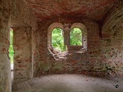 Prinz-Wilhelm-Gedchtniskirche 4 (Moddersonne) Tags: lost place urbex verlassen abandoned decay kirche ruine kirchenruine prinz wilhelm gedchtniskirche polen teufel kirchturm