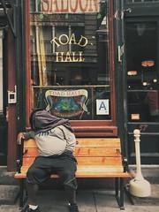 The wild ride hits the wall (Ryan Vaarsi) Tags: streetphotography grryo iphone6splus mobilephotography vsco soho newyorkcity manhattan