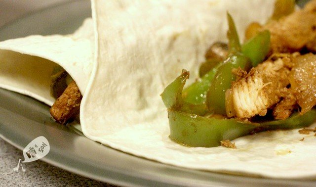 Chicken and Portobello Mushroom Fajitas