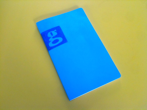 One notebook / nice colours