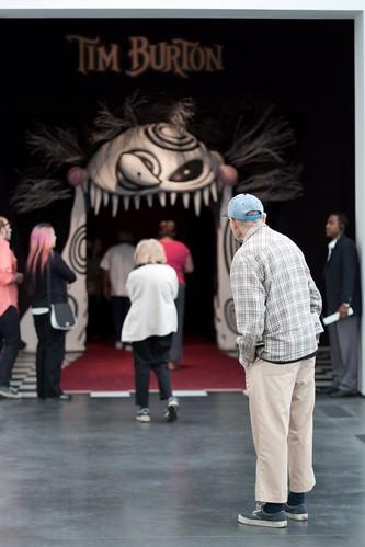OYLPA Day 251: Tim Burton and Islamic Art at LACMA by klodhie