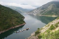 Ezero Kozjak (kosova cajun) Tags: mountains clouds landscape boats macedonia makedonija peisazh maqedoni kozjaklake ezerokozjak