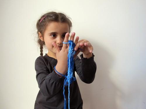 tricot de dedo