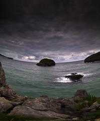 Centrifugal force (Ahio) Tags: sea sky clouds seascapes bayofbiscay cantabriansea vertorama smcpentaxda1224mmf40edalif pentaxk5