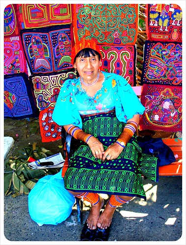Kuna Woman in Casco Viejo
