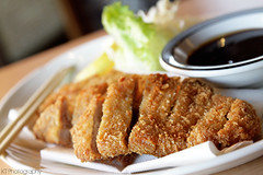 Tonkatsu (gtsomething) Tags: food japanese yummy tasty delicious crispy pork japanesefood tonkatsu deepfried porkcutlet gtsomething goldencrispy