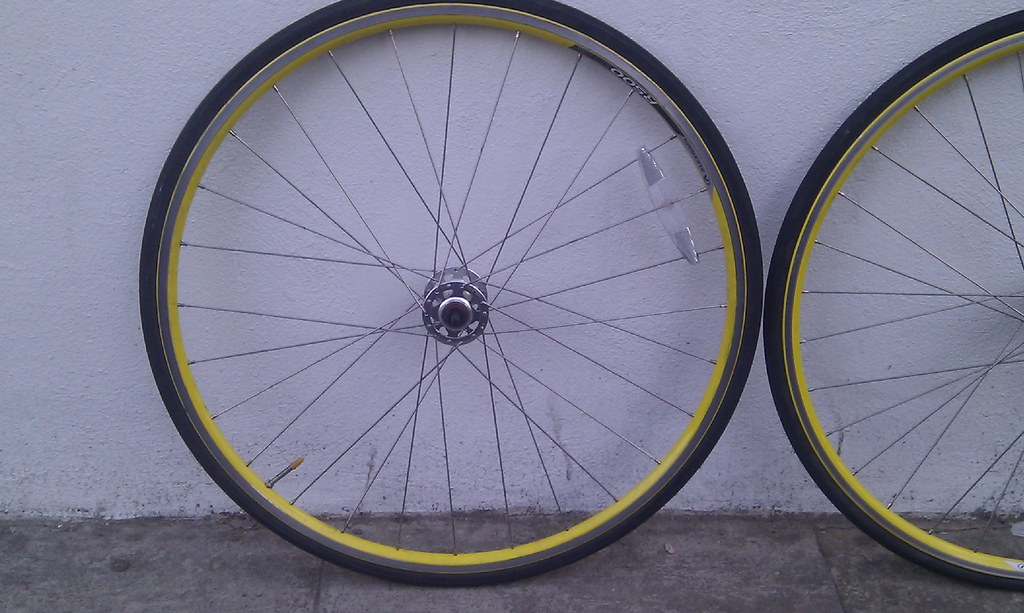 Used front wheel