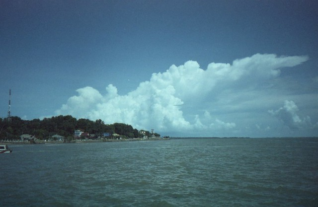 Sky oveer the island