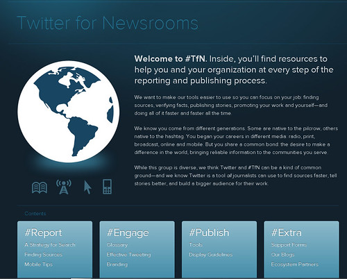 Twitter for newsrooms