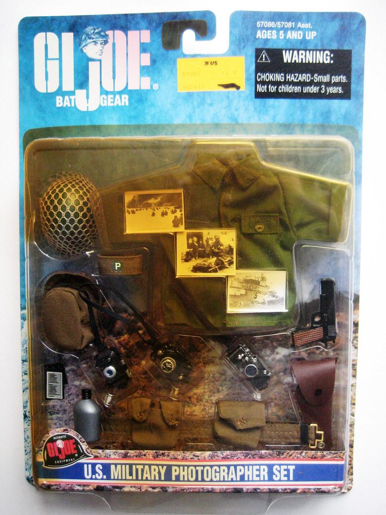 GI Joe Military War Photographer Camera Set 3207