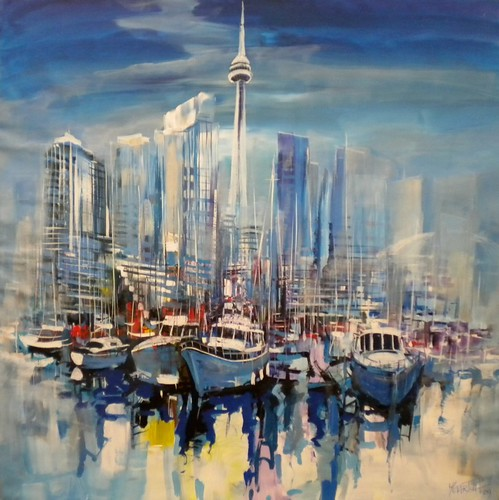 Toronto, Canada - Painting - Impressionism