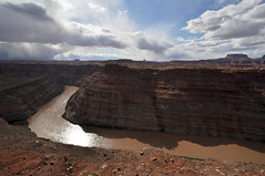 Colorado River Overlook (David M Hogan) Tags: landscape utah sandstone hike canyonlandsnationalpark coloradoriver needles coloradoplateau americanheritage needlesdistrict coloradoriveroverlook southwestroadtrip2011
