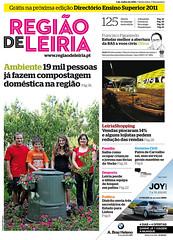 Capa do Região de Leiria da edição 3876 de 01 de Julho 201