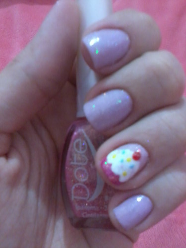 cupcake nail art gallery