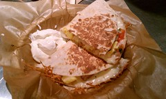 Breakfast Quesadilla @ Qdoba Mexican Grill (HeadGEAR56) Tags: food breakfast mexican quesadilla qdobamexicangrill breakfastquesadilla foodspotting foodspotting:place=159028 foodspotting:review=672846