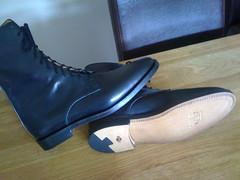 Handmade bespoke boots