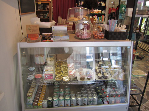 The Viva Vegan Shop's Dessert Counter