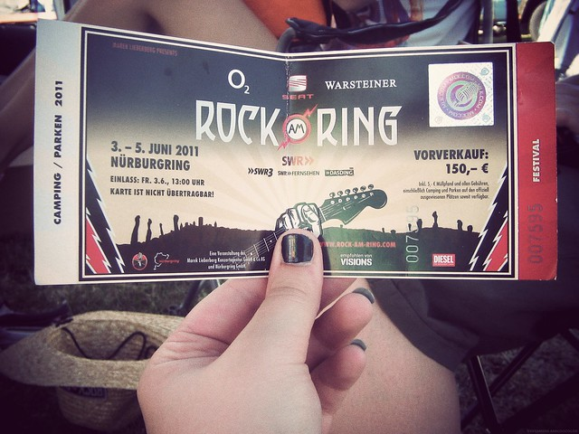 Rock am Ring 2011 - Ticket.