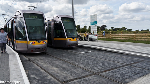 Luas Stop At Saggart