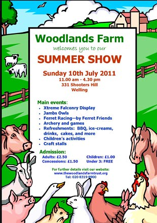woodlands farm summer show 2011