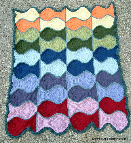 festive fish blanket 1