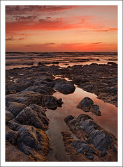 Under a red blood sky (Jose Viegas) Tags: costa portugal nova canon de ray mark vila ii 5d alentejo singh milfontes vicentina