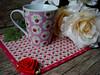 Dê ROSAS! (**DASDE Artes!**) Tags: rose rosa mugrug tapetedecaneca