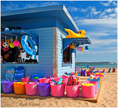 beach shop, Weymouth (Ken Came) Tags: pictures beach bright april colourful 112 weymouth 2012