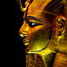 Golden Mask of Psusennes I - Profile View