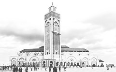 King Hassan II Mosque (© Ahmed rabie) Tags: