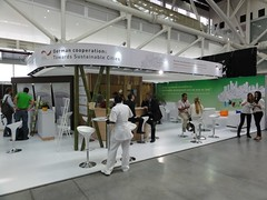 German cities booth (jfoley) Tags: colombia medellin worldurbanforum wuf7