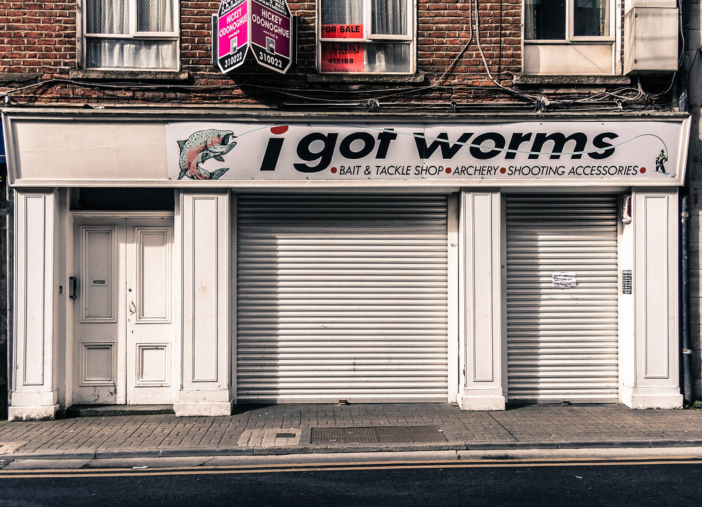I GOT WORMS IN LIMERICK [Was Located At  19 Ellen Street ]