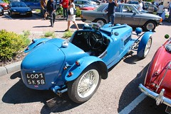 Riley Nine Brooklands model (1927-31) (Kentishman) Tags: france sports car riley nikon nine brooklands saulieu d80 afsdxzoomnikkor18135mmf3556gifed dsc6487 4001sk58 ladeuchesedelocienne fetedelaroutenationale6 cotedor