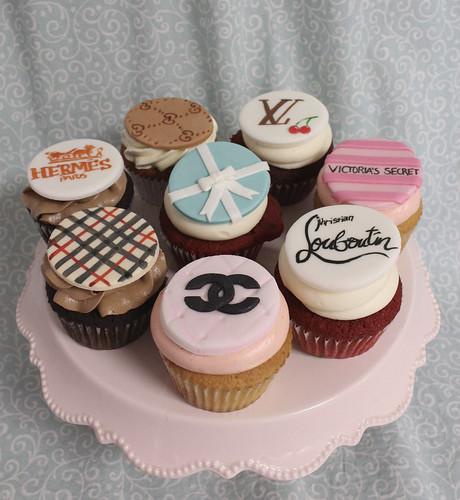 Fashion Designer Cupcakes