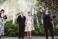 """Claire and Joe and their sign language interpreter. At Melbourne Museum, Carlton. • <a style=""""font-size:0.8em;"""" href=""""http://www.flickr.com/photos/21623077@N04/14484410832/"""" target=""""_blank"""">View on Flickr</a>"""