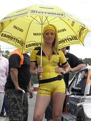Promotoras del Glvez 043 (Ariel PH 2015) Tags: spandex lycra pitbabe racequeen promotora edecan leggins calzas paddockgirl