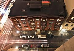 910 SW Park (Curtis Gregory Perry) Tags: park street longexposure building brick car night office nikon apartment avenue 910 pcx             d800e